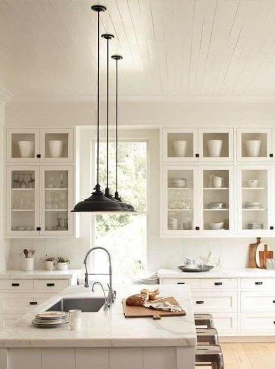 Creative Lighting ideas for Kitchens 21