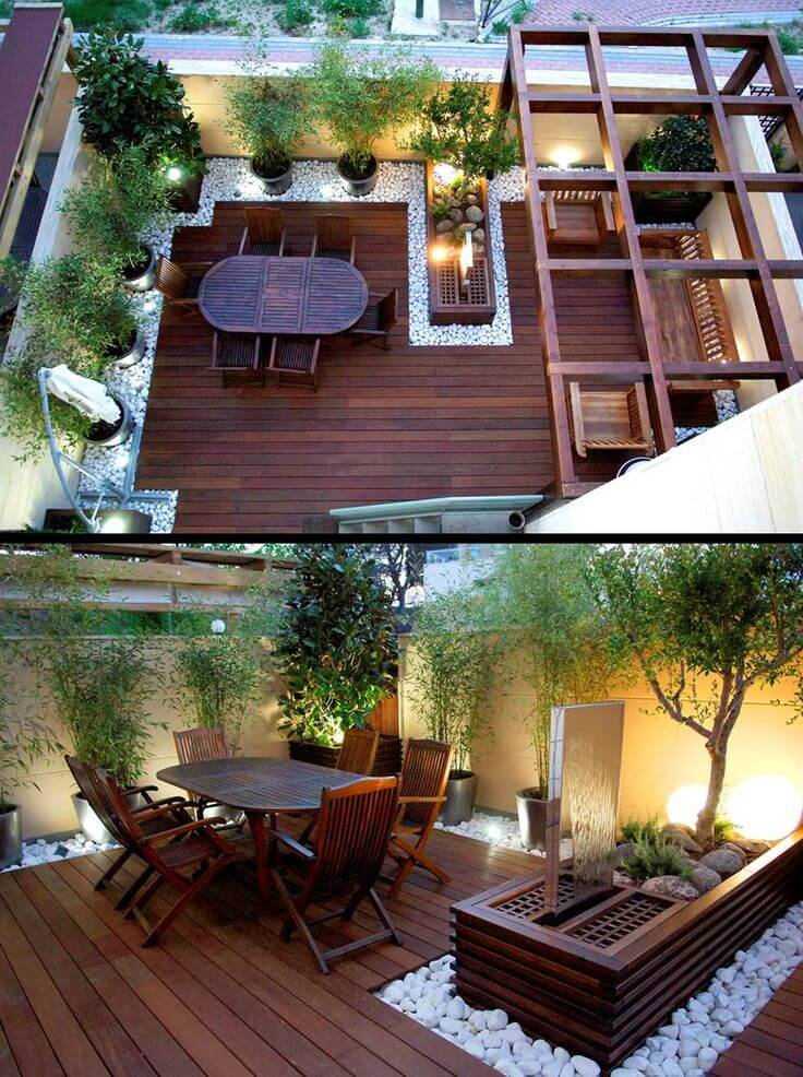 creative backyards for small yards