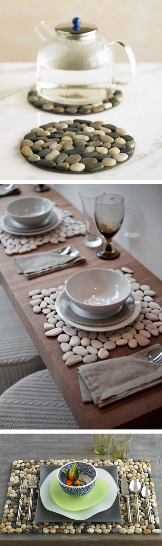 pebble placemats